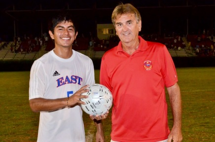 East - West Soccer All Star Game