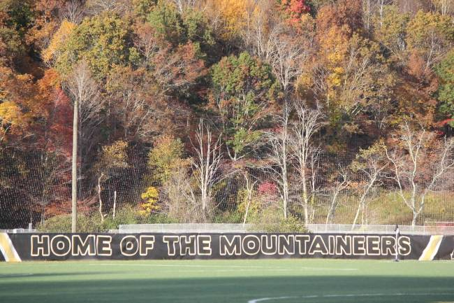 Ted Mack in Boone NC for App State Men's Soccer